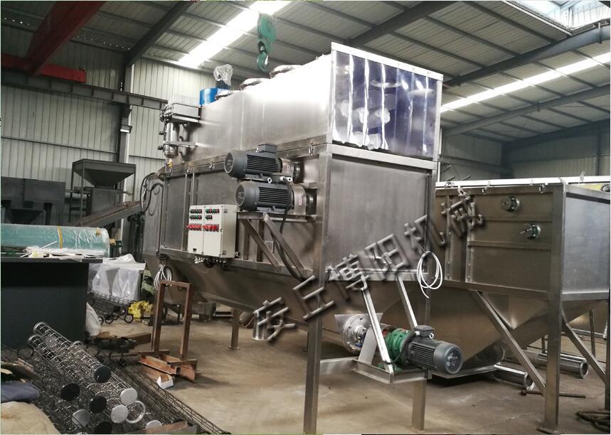 硫磺粉自动拆包机加工现场